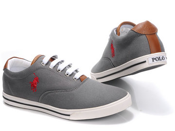 polo ralph lauren shoes pairs gris