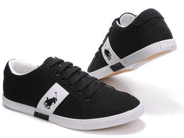 polo ralph lauren shoes pas cher noir