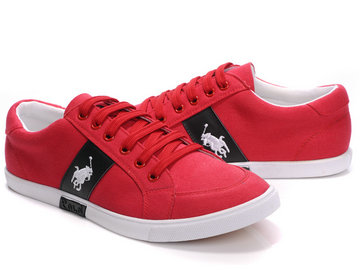 polo ralph lauren shoes ronge mide blance