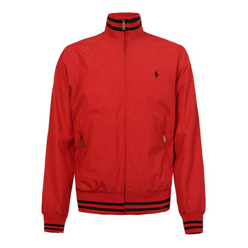 polo ralph lauren jacket big pony taille m-xxl top line red