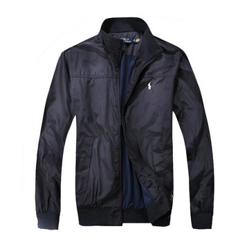 ralph lauren jacket jacket man 2018 blue pony
