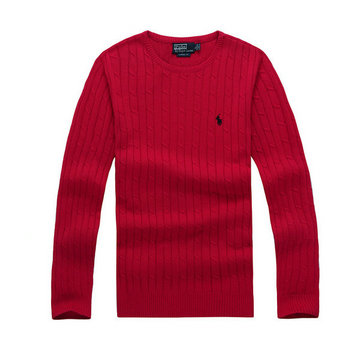 ralph lauren pulls man 2014 chute hiver polo discount round col 9519 rouge