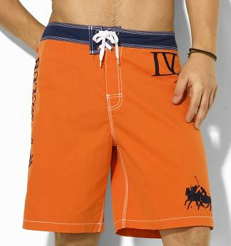 ralph lauren short de bain lv orange,short de bain homme
