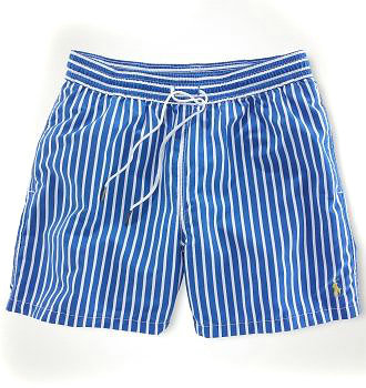ralph lauren short de bain ligne hot blue