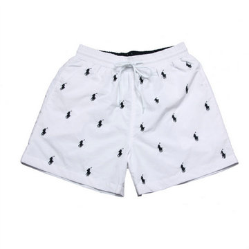 ralph lauren short de bain mode blance pony blue