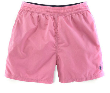 ralph lauren short de bain mode-rose noir
