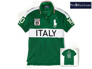 ralph lauren t-shirt coupe flag nom pays italy,big pony tee shirt ralph lauren 64
