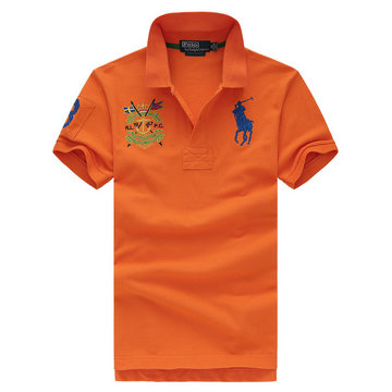 ralph lauren t-shirt rl19-67pc new york city orange