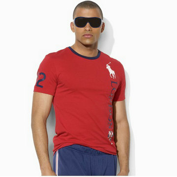ralph lauren t-shirt london logo rouge
