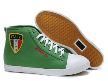 sold polo ralph lauren shoes man high state italy 2013 polo67 green