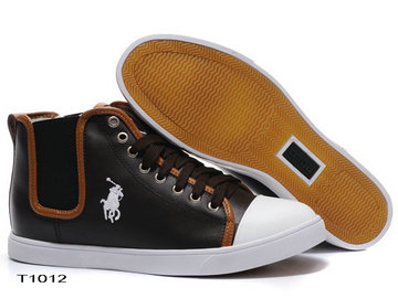 sold polo ralph lauren shoes man high state italy 2013 pt1012 black