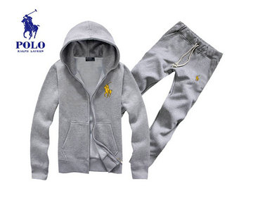 survetement polo ralph lauren en molleton hoodie jogging gold pony
