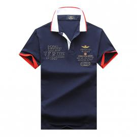 t shirt ralph lauren homme prix lapel air force an crown embroidery blue