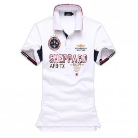 t shirt ralph lauren homme prix lapel air force sheppard white