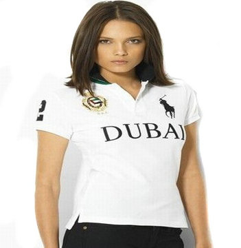 women ralph lauren sport cotton t-shirt white dubal